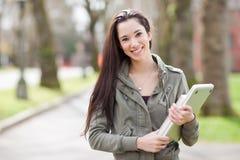 Studente di college etnico fotografia stock