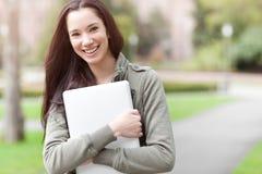 Studente di college etnico immagini stock libere da diritti