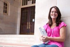 Studente di college femminile Fotografia Stock