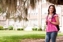 Studente di college femminile Fotografie Stock