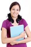 Studente di college indiano Immagini Stock