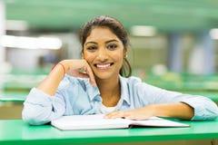 Studente di college indiano Fotografie Stock