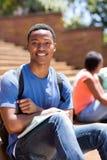 Studente di college maschio Immagine Stock Libera da Diritti