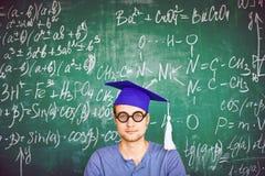 Studente di graduazione Immagine Stock