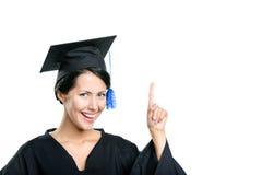 Studente di laurea felice Fotografie Stock