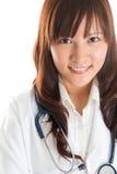 Studente di professione d'infermiera. Immagine Stock