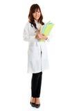 Studente di professione d'infermiera Fotografia Stock
