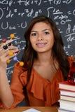 Studente di scienza Immagine Stock