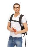 Studente di viaggio Fotografia Stock Libera da Diritti