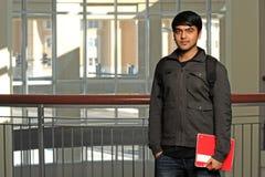 Studente indiano dentro la scuola Fotografie Stock
