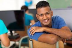 Studente indiano maschio Immagini Stock Libere da Diritti