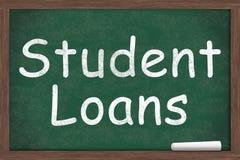Studente Loans Fotografia Stock