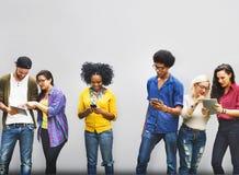 Studente Relationship Team Concept del collegamento dei colleghi Fotografia Stock