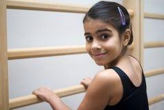 Studente sorridente di balletto Immagini Stock