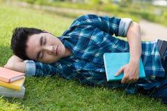 Studente stanco Fotografie Stock Libere da Diritti