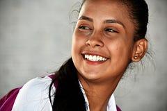 Studente sveglio felice dell'adolescente Immagini Stock Libere da Diritti