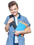 Studente teenager del ragazzo Fotografia Stock Libera da Diritti