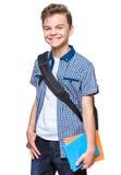 Studente teenager del ragazzo Fotografie Stock