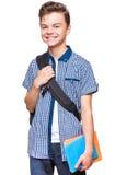Studente teenager del ragazzo Immagini Stock