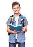 Studente teenager del ragazzo Immagine Stock Libera da Diritti