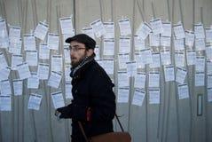 Studente Tuition Fees Protest Edimburgo Regno Unito Fotografia Stock Libera da Diritti