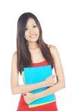 Studente universitario asiatico Fotografia Stock