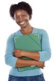 Studente universitario del African-American Immagine Stock
