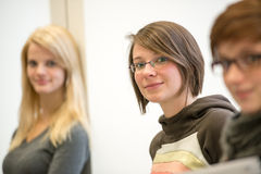 Studenten lizenzfreie stockfotografie