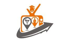 Studenten-Channel Fernsehen Lizenzfreie Stockbilder