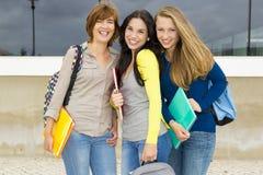 Studenten in de school Royalty-vrije Stock Afbeelding