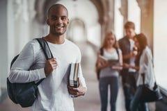 Studenten op universiteit royalty-vrije stock foto