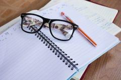 Studentenanmerkungsbuch Lizenzfreies Stockbild