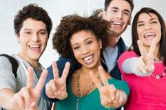 Studentenerfolg Stockbild