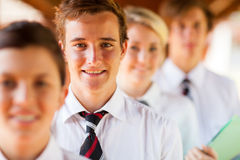 Studentengruppe lizenzfreies stockfoto