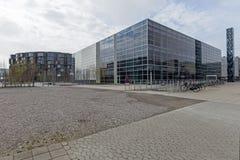 Studentenhuis en Universiteit van copenahagen Stock Afbeelding