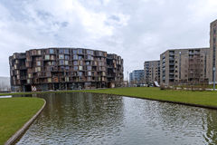 Studentenhuis en Universiteit van copenahagen Stock Afbeeldingen