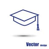 Studentenpictogram Stock Afbeelding