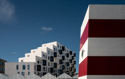 Studentenwohnung in Odense, Dänemark Stockfoto