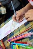 Studentenzeichnung Lizenzfreie Stockbilder