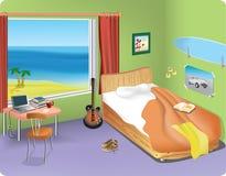 Studentenzimmer. Lizenzfreie Stockfotografie