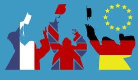 Studenter och europeisk utbildning Arkivfoton