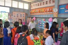 studenter och lärare Arkivfoton