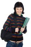 Studentessa attraente Fotografia Stock