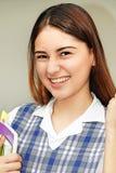 Studentessa della preparazione And Happiness Immagine Stock Libera da Diritti