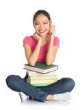 Studentessa di college Immagine Stock