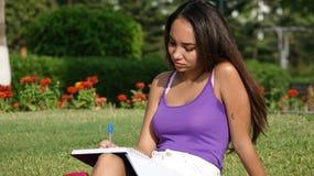 Studentessa giovanile Immagine Stock