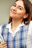 Studentessa sveglia And Happiness Fotografia Stock