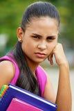 Studentessa teenager infelice Immagine Stock Libera da Diritti