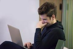 Studenti dell'IT Fotografie Stock