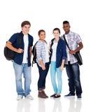 Studenti della scuola del gruppo Fotografie Stock